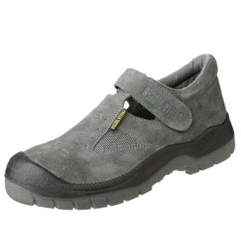 Safety Jogger Bestsun S1P Low Cut Men Safety Shoes Footwear SteelToe (Gray)