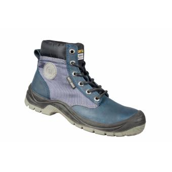 Safety Jogger Dakar S3 High Cut Safety Shoes Work Boot Footwear Steel Toe Oil Resist anti-slip ( Navy )