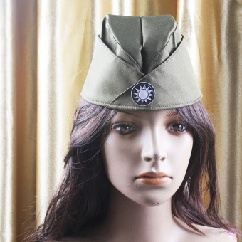 Sailor snare drum cap hat (Army Green)