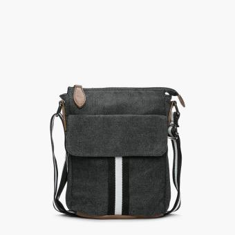 Salvatore Mann Aidan Sling Bag (Black)