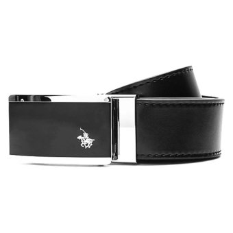 Santa Barbara Polo & Racquet Club Genuine Leather BeltAutomatic (Black) Price Philippines