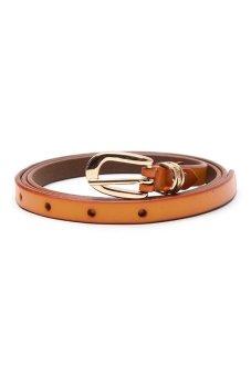 Santa Barbara Polo and Racquet Club Ladies' Belt (Brown)