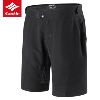 Santic Men Cycling Shorts Anti-UV Leisure Style Breathable Downhill MTB Mountain Road Bike Shorts Cycling Pants Spring Summer - intl