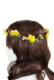 Sanwood Boho Flower Headband Yellow