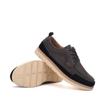 Seanut Men's Casual shoes Low Cut Shoes(Black) - 4
