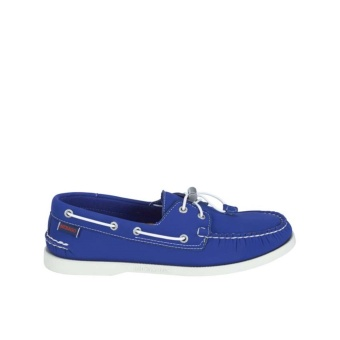 Sebago Docksides Men Boat Shoes (Dark Blue Neoprene)