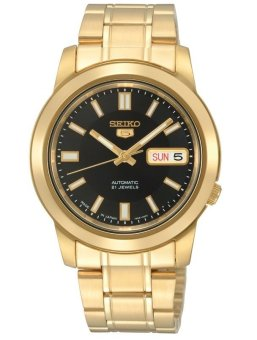 Seiko SNKK22K1 Men?s Metal Basic Watch (Gold)