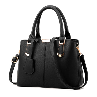 Shishang mother New style shoulder Portable Bag women's bag (Classic black)