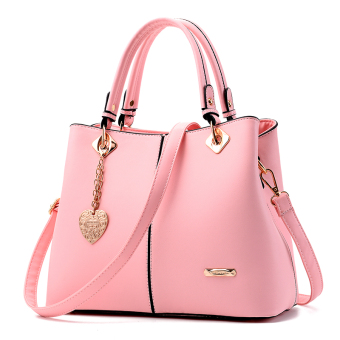 Shishang New style atmosphere women's casual women's bag (Pink)