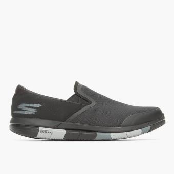 Skechers Mens Go Flex Walk Sneakers (Black)