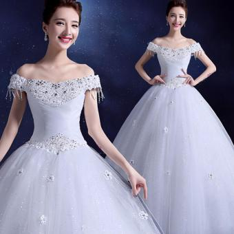 Slim Waist Ivory Ball Gown Bridal Dress Leondo Wedding Dress Gowns Wholesale Price - intl