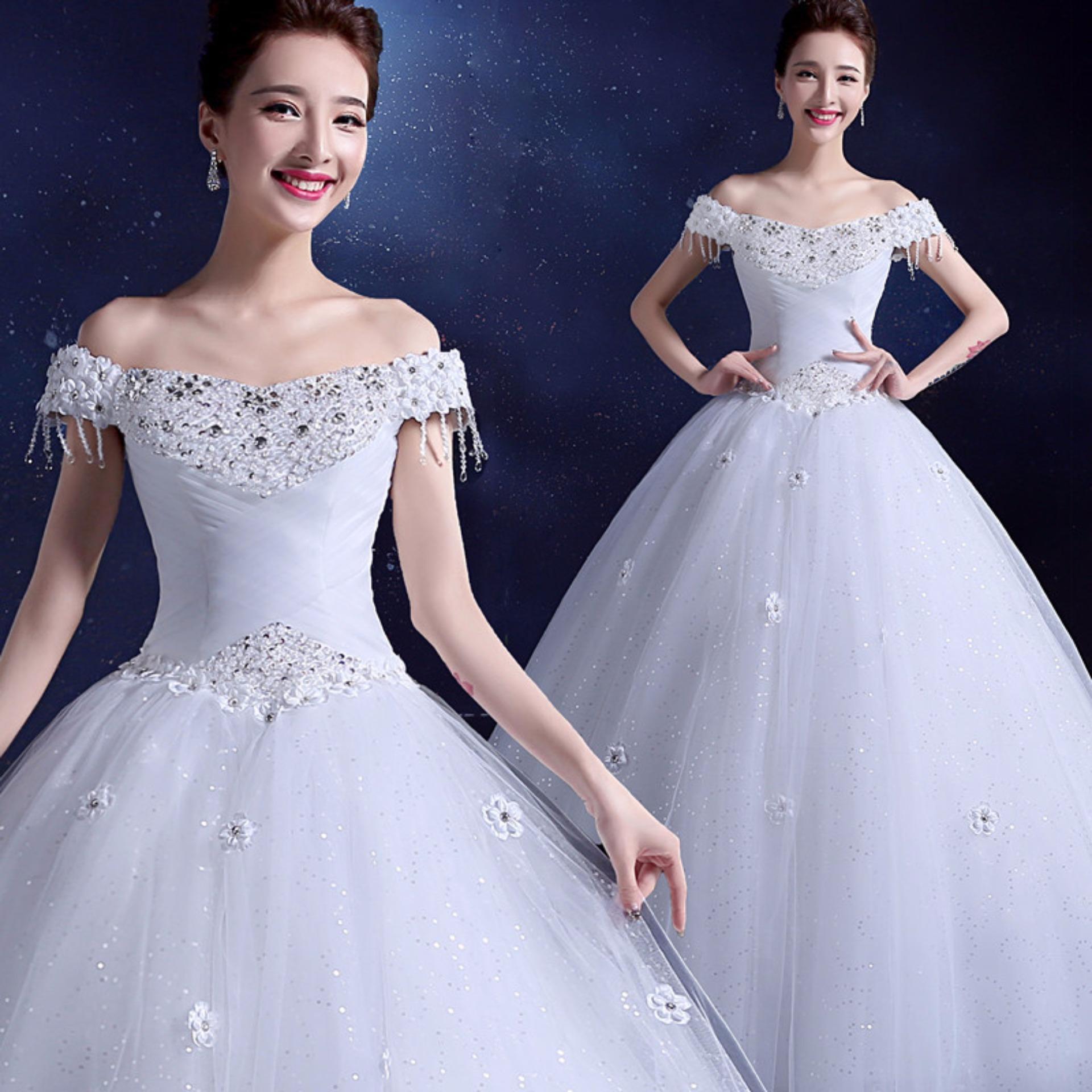 Philippines   Slim Waist Ivory Ball Gown Bridal Dress Leondo Wedding ...