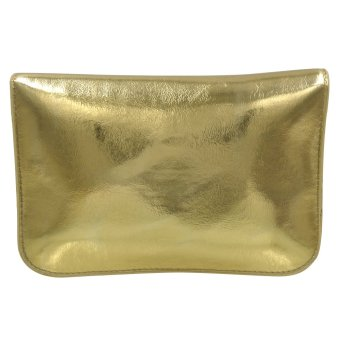 Sling Bag Leather Ladies Casual (Gold) - 4