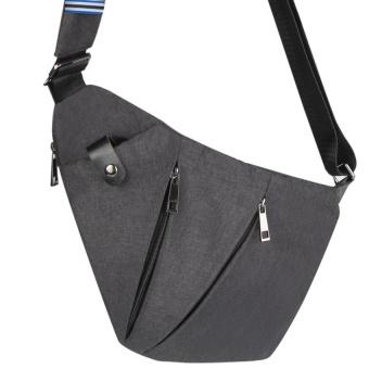 Sling Bag Shoulder Chest Cross Body Backpack Lightweight Casual Outdoor Sport Travel Hiking Multipurpose Anti Theft Crossbody Pack Daypack Bag Up to 7.9 Inch Tablet for Men Women - intl - 2