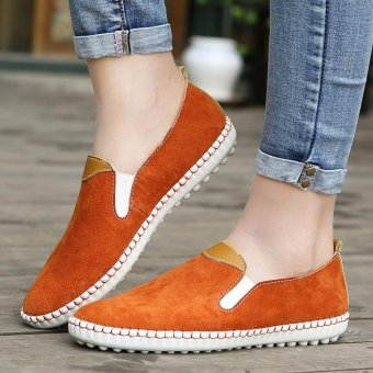 Slip-Ons for Women's loafers Lazy shoes Fashion casual shoes - intl - 4