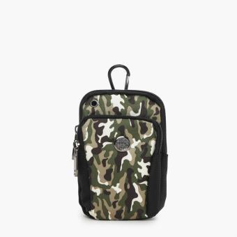 SM Accessories Mens Belt Bag (Camouflage)