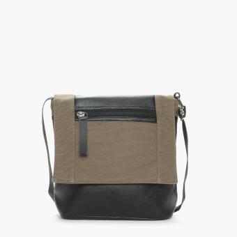 SM Accessories Mens Sling Bag (Khaki)