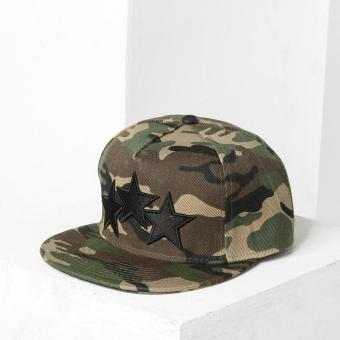 SM Accessories Mens Snap Back Cap (Camouflage)
