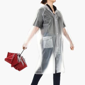 SM Accessories Raincoat and Compact Umbrella Set