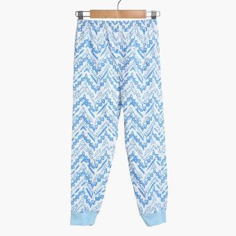 SM Basic Boys 2-Piece Geometric Pajama Set (Multicolored) - 3