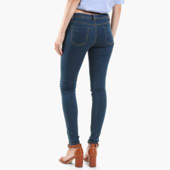 SM Woman Slim Jeans (Blue) - 2