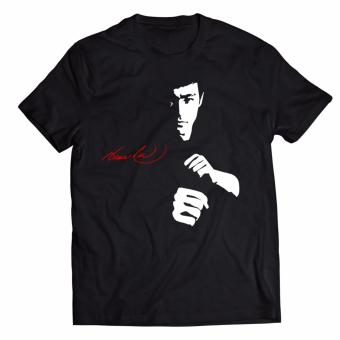 Smartieshirt Legendary Bruce Lee Shirt (CTS20) (black)