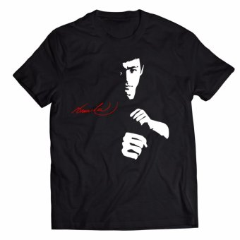 Smartieshirt Legendary Bruce Lee Shirt (CTS20) (black) &Multi-functional Seamless Mask (MFW03-AC)