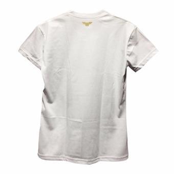 Smartieshirt Wonderwoman Shirt (White) - 4