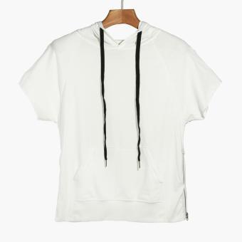 Smyth Boys Teens Short Sleeves Pullover (White)