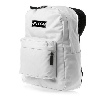 SNYGG Solid Backpack (White)