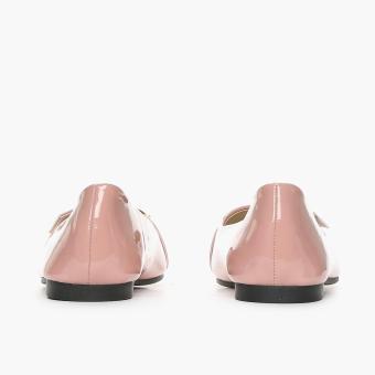 Solemate Ladies Vyan Ballet Flats (Blush) - 4