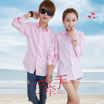Solid color documents according to base couple's shirt (Special price light pink (one pieces))