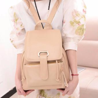 South Korea travel small pure backpack( off white) Price Philippines