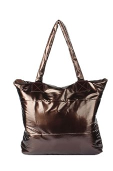 Space Bale Cotton Totes Handbag (Brown) - picture 2