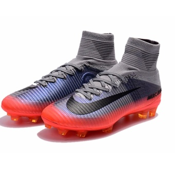 SpeedFly Men's FG Football Shoes Mercurial Superfly V Cr7 Chapter 4 FG Soccer Cleats - 4