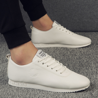 Sports autumn New style BayMini shoes men shoes (White)