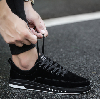Sports New style casual shoes men shoes (QC09 black)