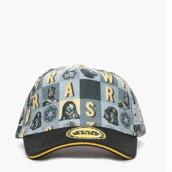 Star Wars Mens Snapback Cap (Grey)