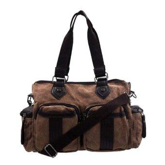 Steph Sling/Handy Unisex Canvas Bag (Mocha)