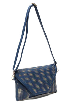 Stratl 028 Fashion Borchie Clutch Bag (Blue) - picture 2