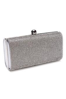 Stratl 20239D Fashion Grazioso Party Bag (Silver)