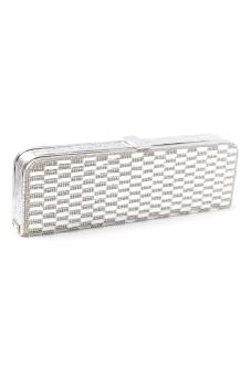 Stratl 20942 Fashion Lo Scacco Party Bag (Silver)