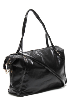 Stratl 502 Fashion Metallica Hand Bag (Black)
