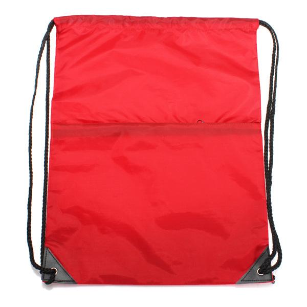 String Drawstring Backpack School Drawstring bag (red) | Lazada PH