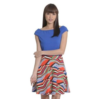 Sugar Clothing Amaya 01 Dress (Multicolor/Blue)