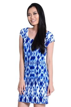 Sugar Clothing Misty Midy Dress (Blue)