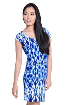 Sugar Clothing Misty Midy Dress (Blue) - picture 2