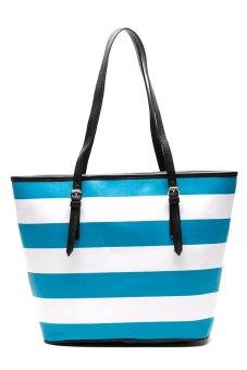 Sugar Eliza Nautica Tote Bag (Aqua Blue)