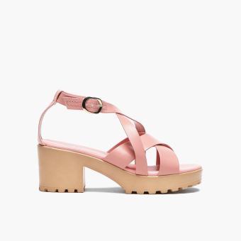 Sugar Kids Girls Dalla Block-heel Sandals (Light Pink)