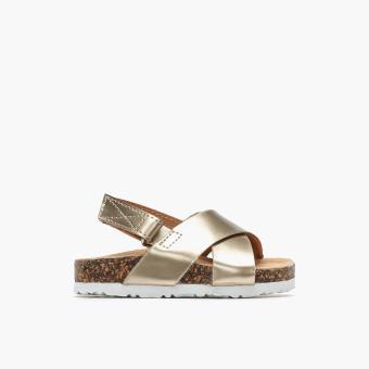 Sugar Kids Girls Doreen Flat Sandals (Light Gold)